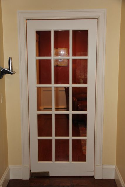 Installing A Swinging Butler Door & Installing A Door With A Spring Loaded Hinge - A Concord Carpenter