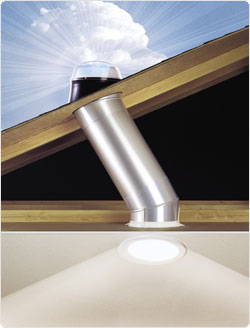 solatube tubular skylight a concord carpenter. Black Bedroom Furniture Sets. Home Design Ideas