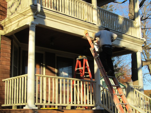 Porch Column Replacement