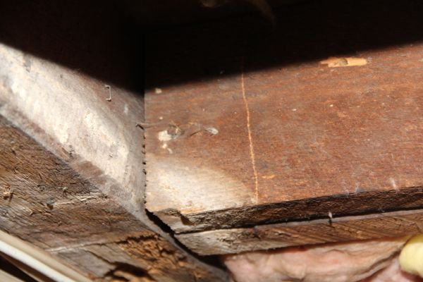 Our Mission Of Adding Joist Hangers To Old Joists Was Accomplished And Gave  Additional Structural Support To Resist The Downward Pressure Of The Floor  ...