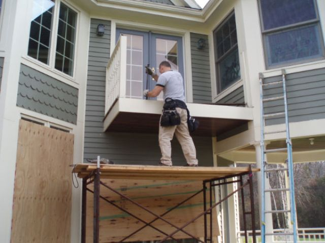 Removing A Leaking Balcony A Concord Carpenter
