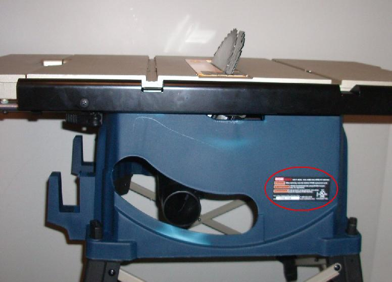 Ryobi table saw recall a concord carpenter repair or replacement of their rts20 ryobi table saw ryobi greentooth Image collections