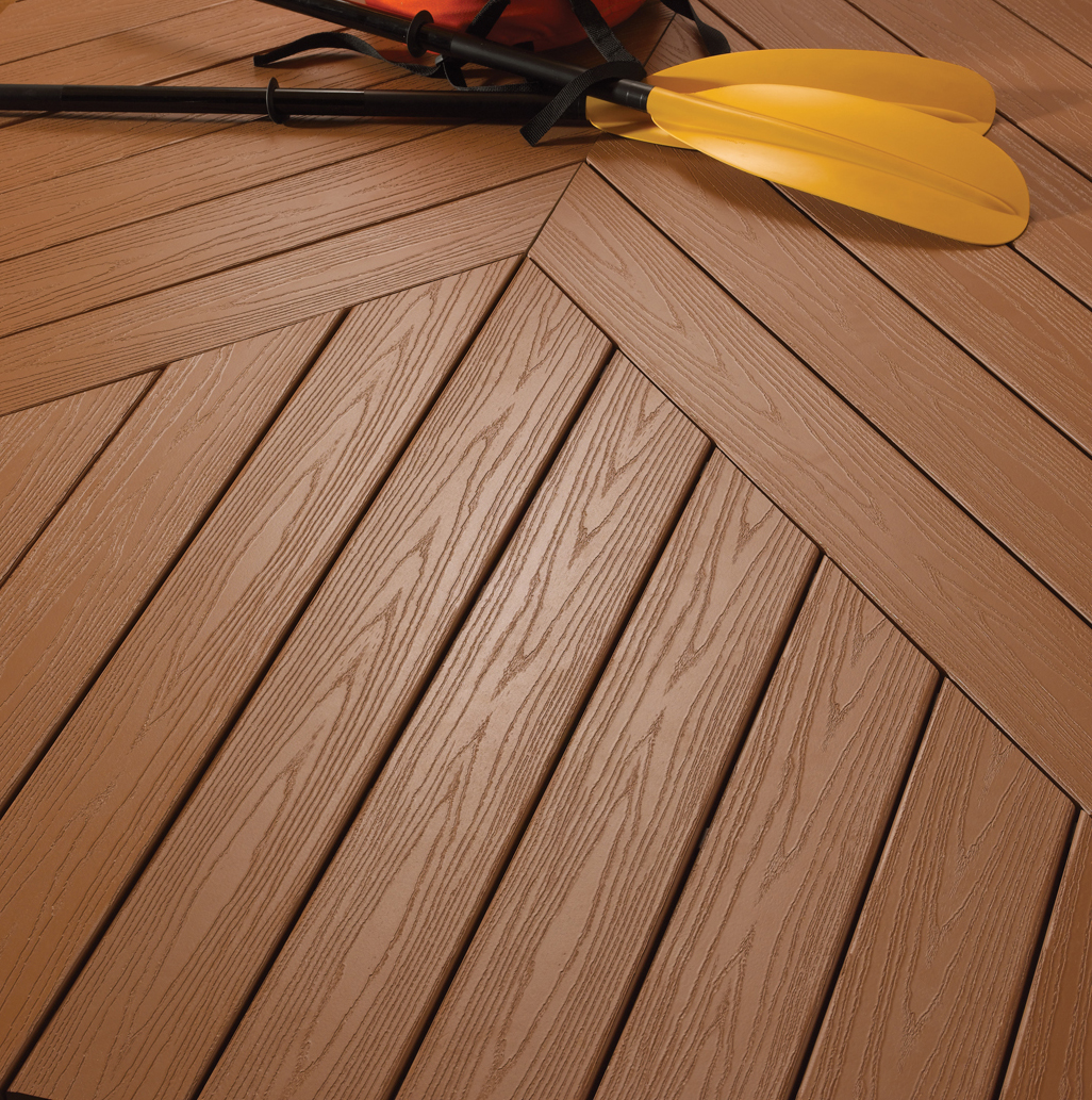 Snow and ice removal on composite decks a concord carpenter Composite flooring for decks