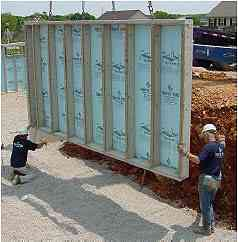 Superior walls provides foundation systems for three for Superior wall system