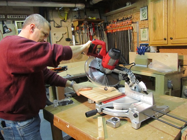 After A Fe SKIL 12 Inch Compound Miter Saw