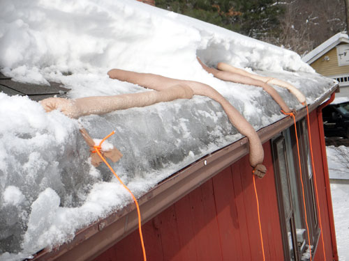 Removing Ice Dams A Concord Carpenter