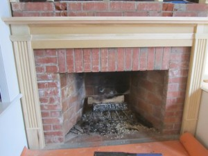 Installing A Custom Bookcase And Fireplace Mantel