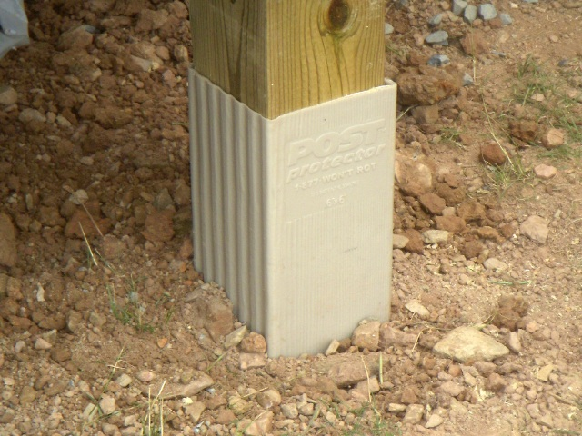 Wood Post Protector A Concord Carpenter