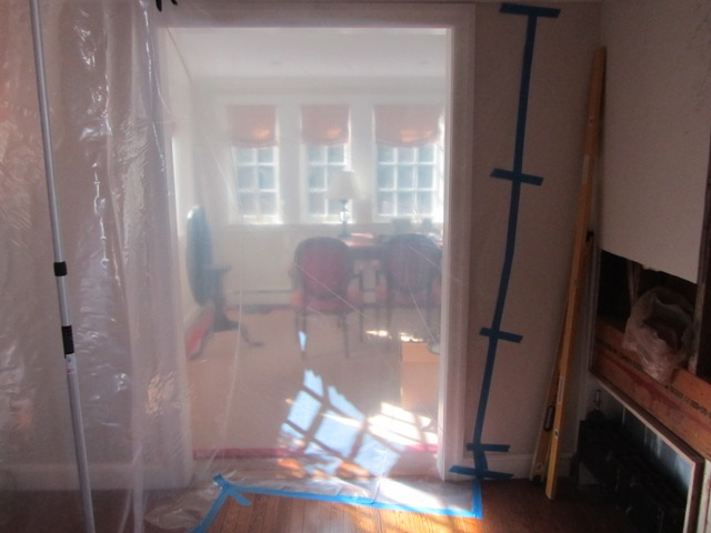 Containing Remodeling Dust A Concord Carpenter