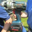 Bosch 18 volt hammer drill dropped from helecopter