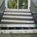 wood porch repair