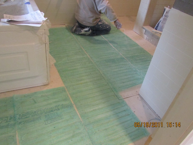 Electric Radiant Floor Heating - A Concord Carpenter