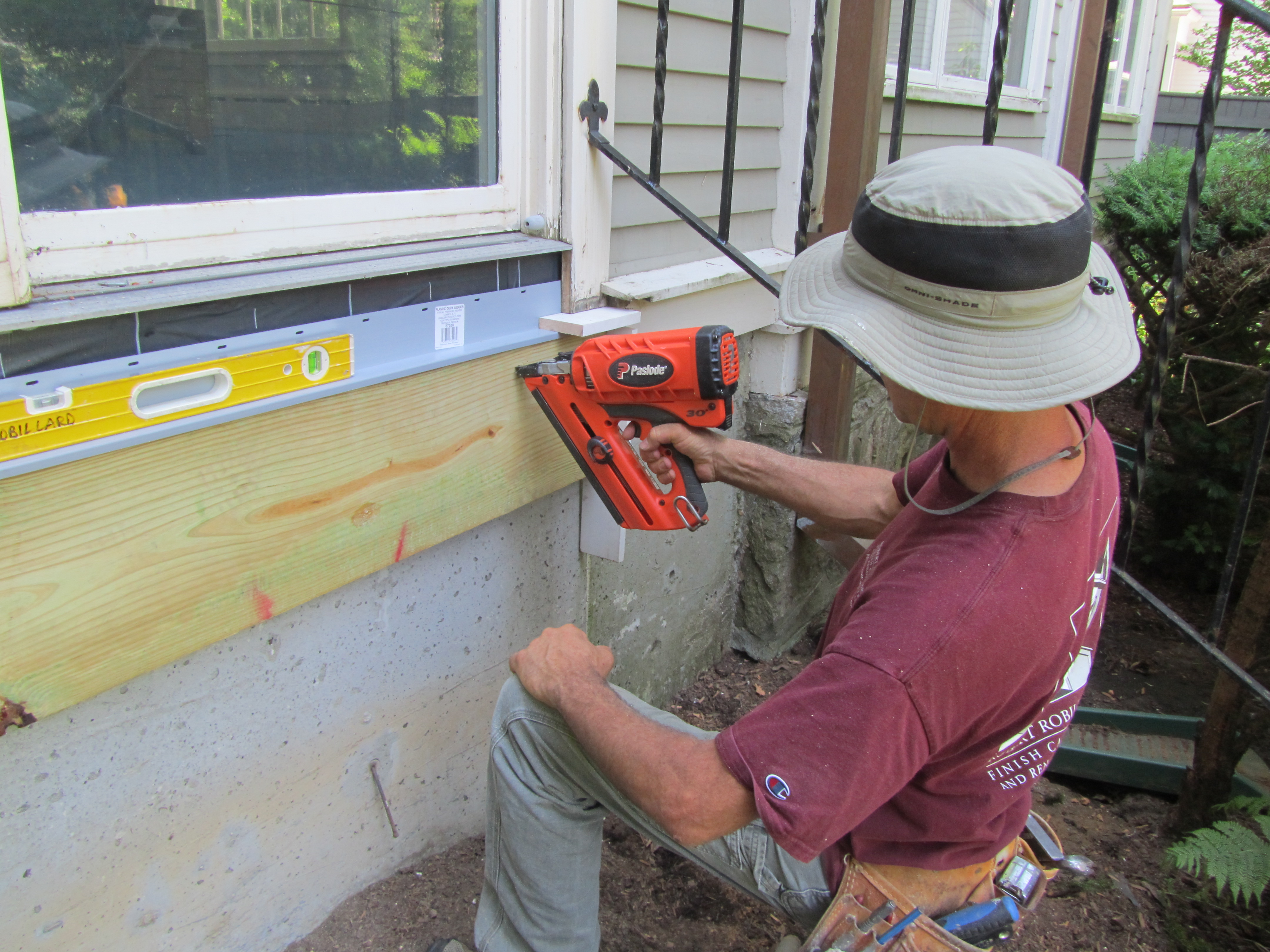 Replacing A Rotting Porch A Concord Carpenter