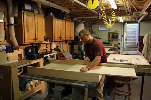 how to cut chamfer on table saw