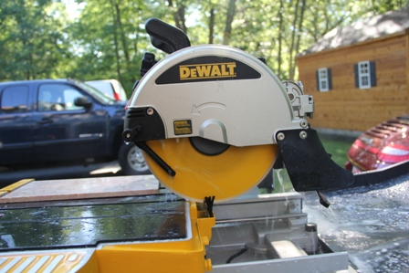 Dewalt d24000 wet tile saw a concord carpenter first impression greentooth Choice Image