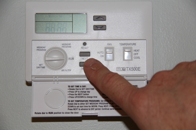 Installing A Lux Programmable Thermostat - A Concord Carpenter