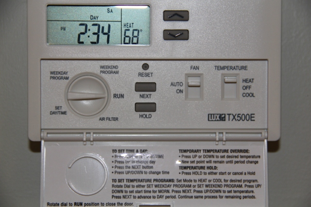 Lux Thermostat Wiring