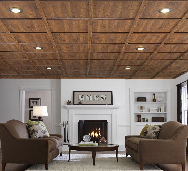 basement remodeling choosing the best ceiling a concord carpenter