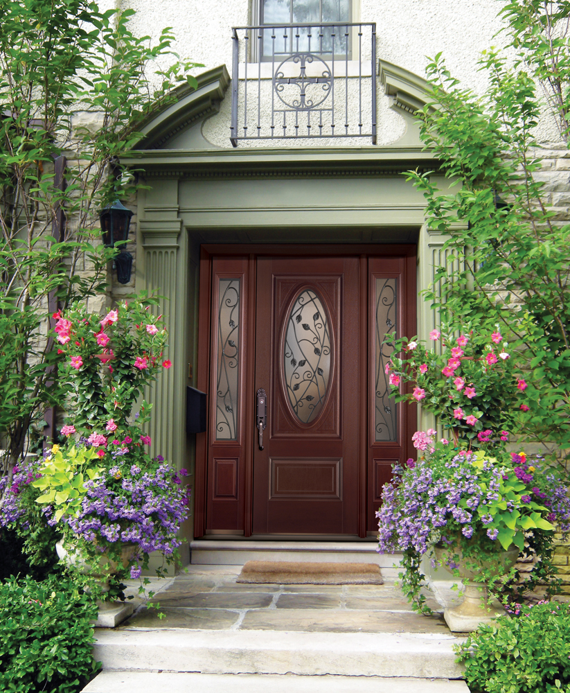 Five curb appeal tips a concord carpenter for Belleville doors