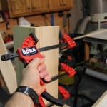Bora pistol clamp