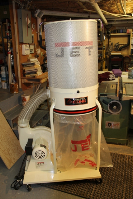Jet Dust Collector Dc 1200vx A Concord Carpenter