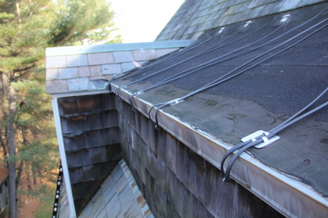Installing Warmlyyours Roof And Gutter Deicing System A