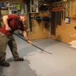 Painting My Work Shop Floor With Rust-Oleum EpoxyShield