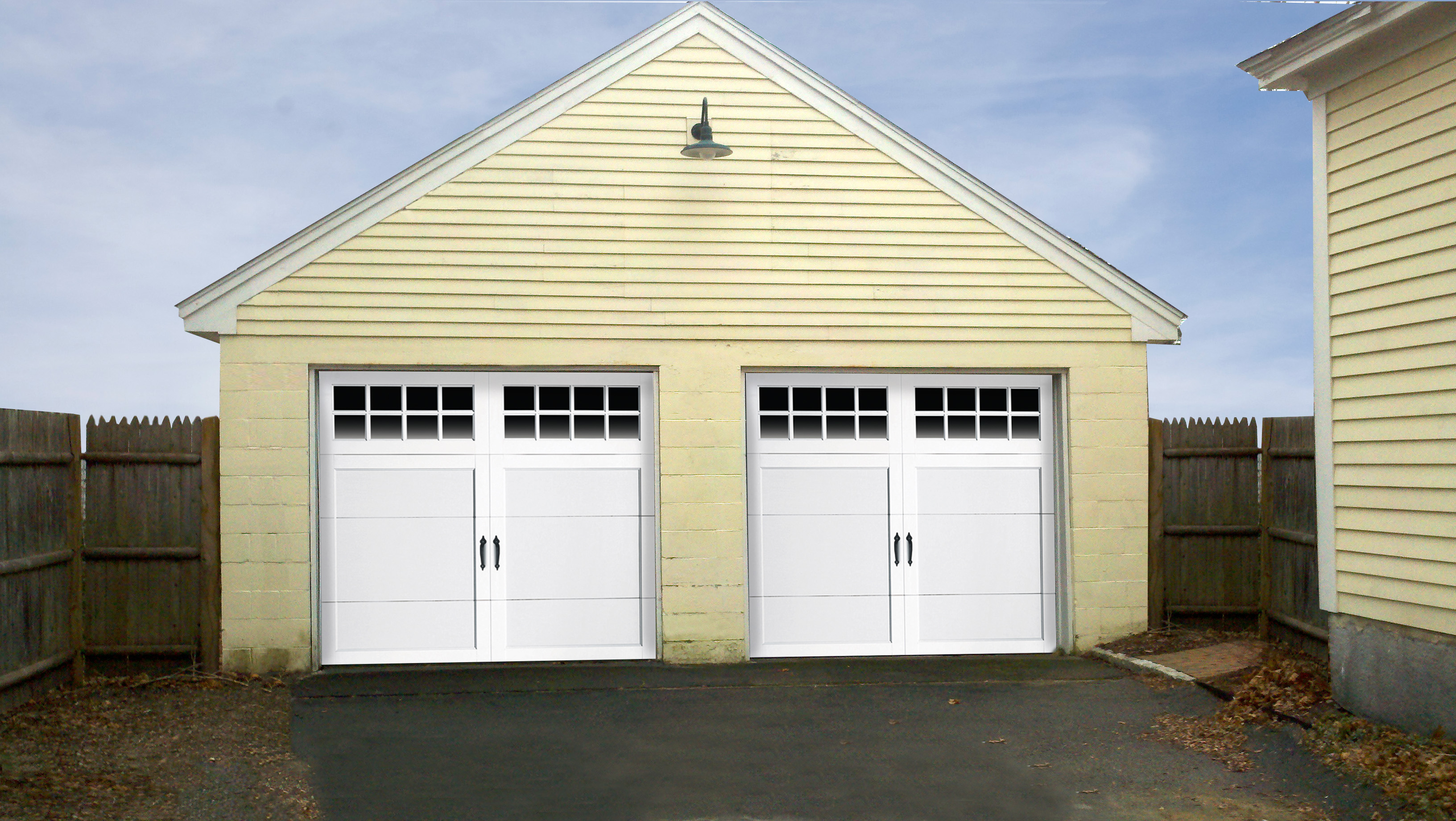 Garage Door Panels : Clopay garage door make over