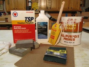 How To Paint Over Polyurethane
