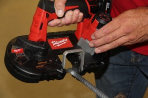 Milwaukee 2429-21XC M12 band saw