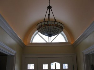 crown molding rope lighting