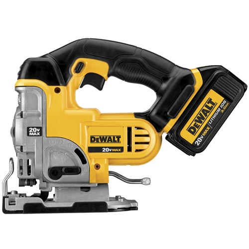 Dewalt 20v max lithium ion jigsaw the greentooth Choice Image