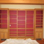 Modifying bookcase for