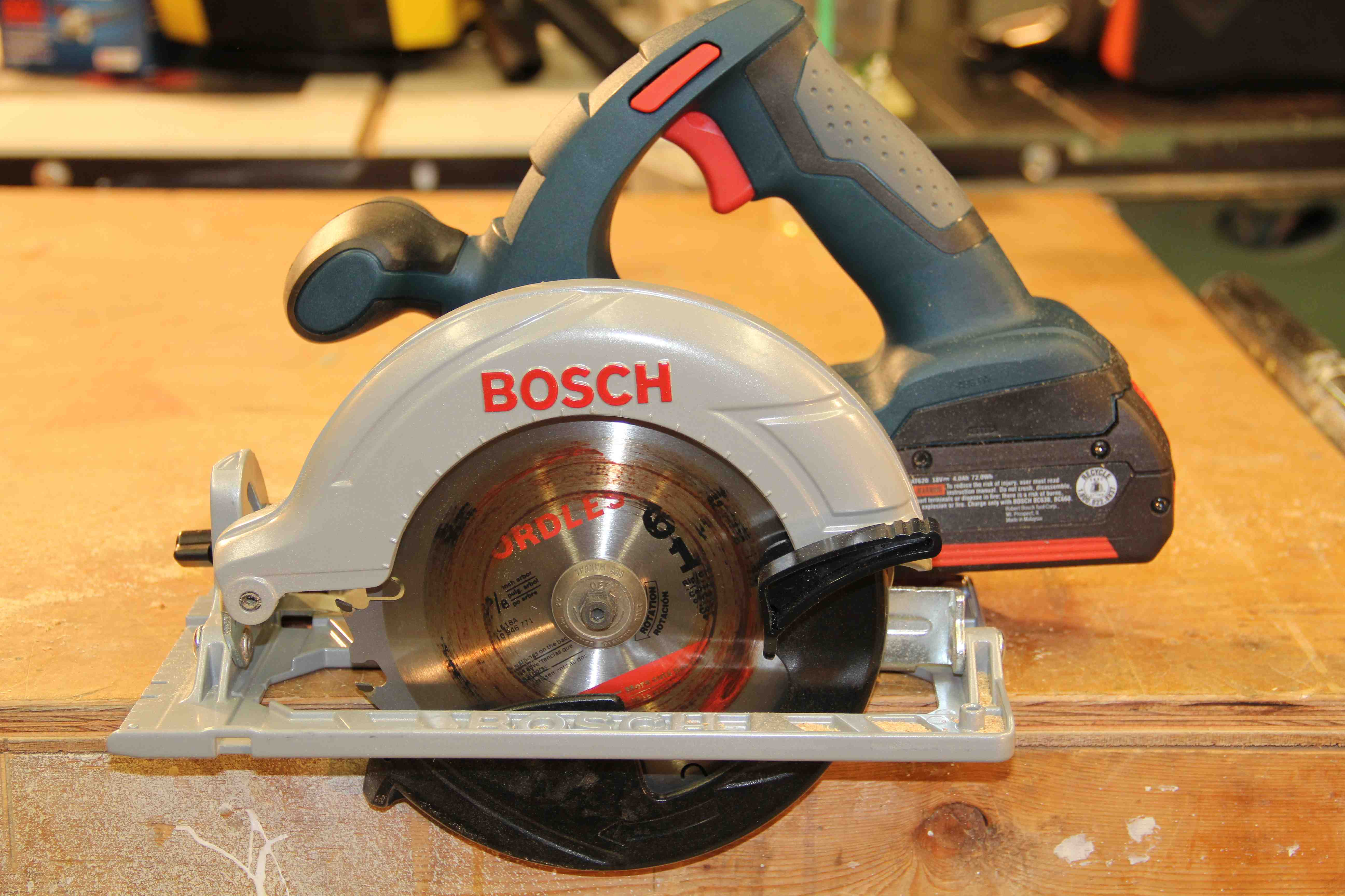 Bosch Ccs180 Circular Saw Review A Concord Carpenter