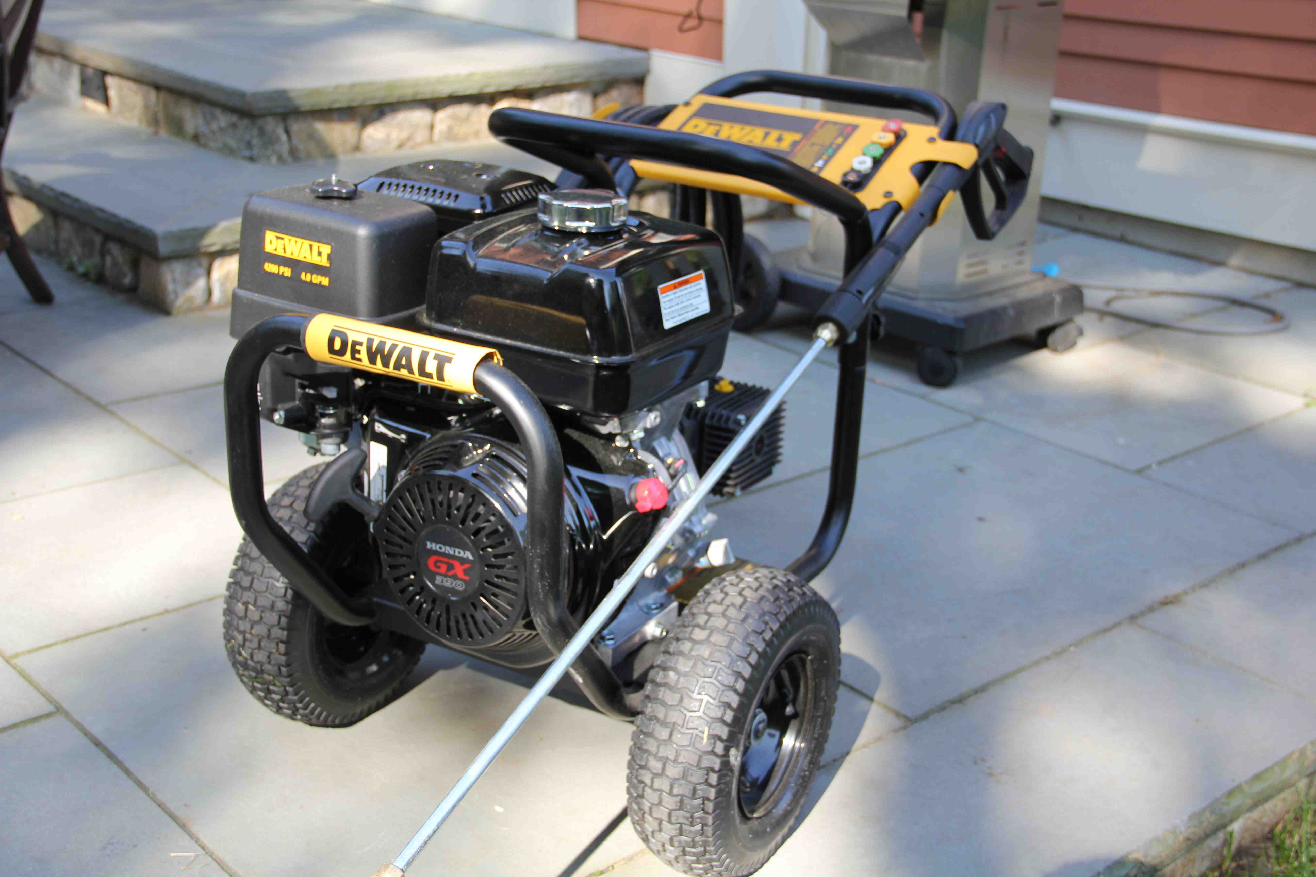 DEWALT DXPW4240 Pressure Washer Review - A Concord Carpenter on