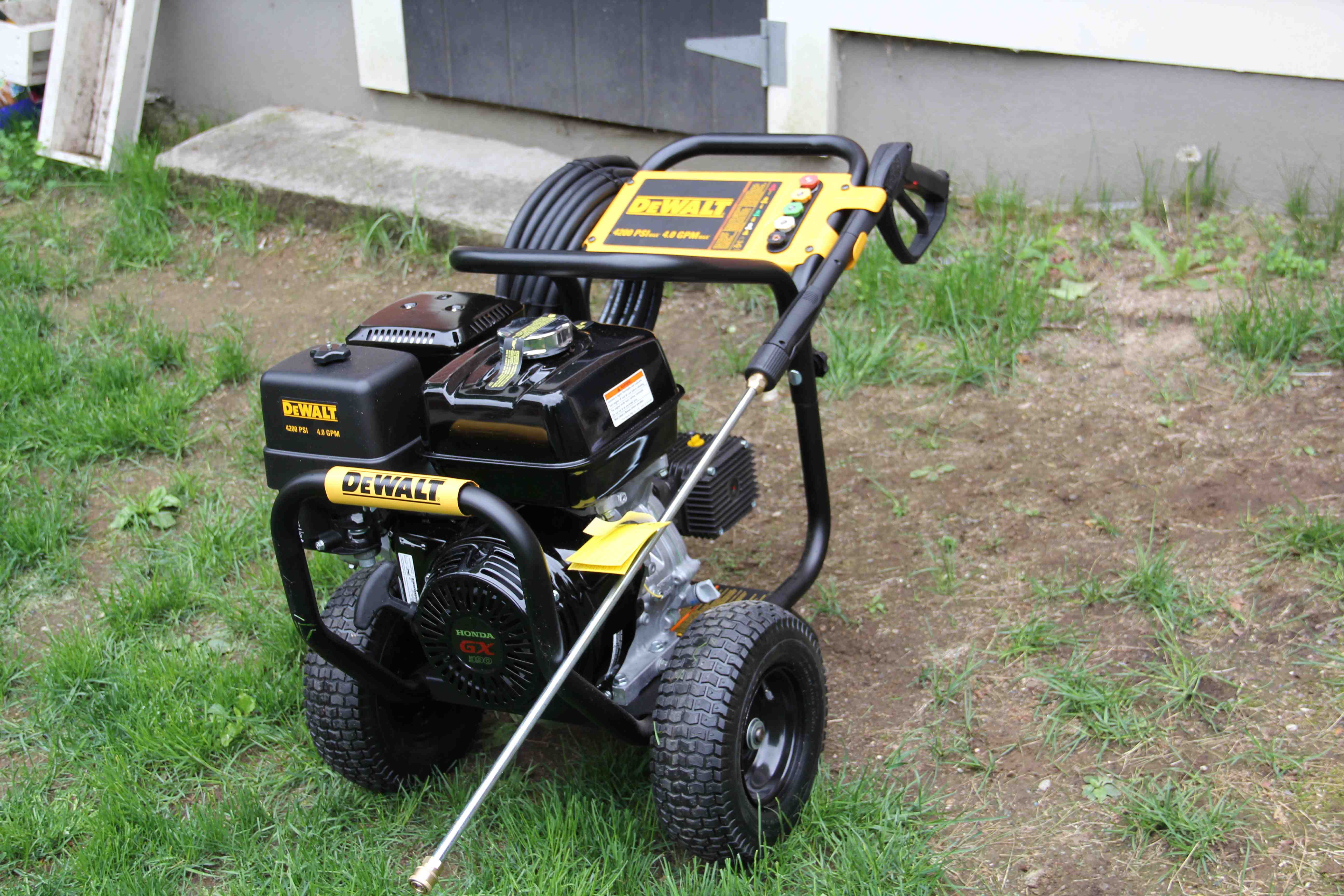 Dewalt Dxpw4240 Pressure Washer Review A Concord Carpenter
