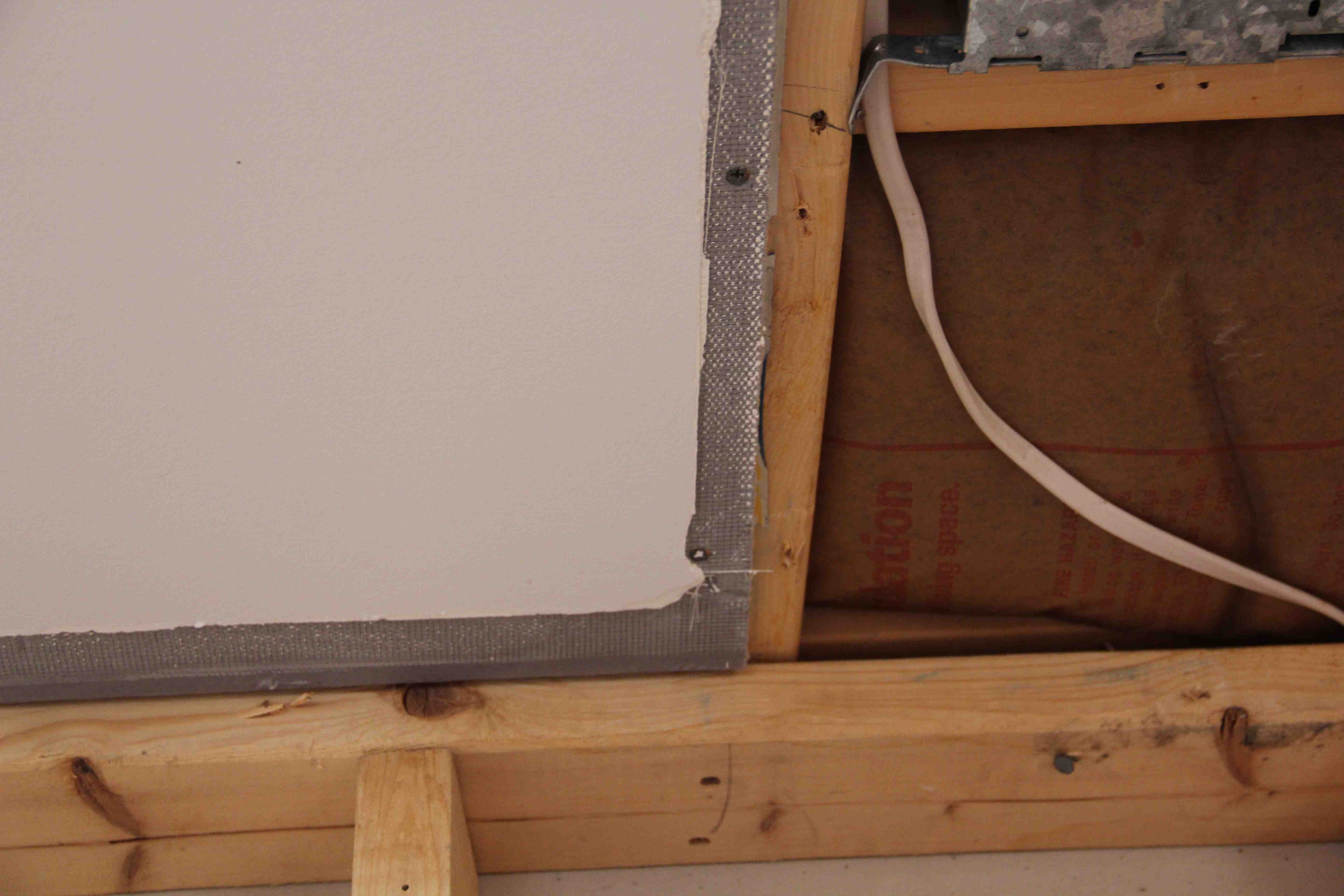 Blending New Wallboard To Old A Concord Carpenter Wiring Behind Plaster Walls Procedure