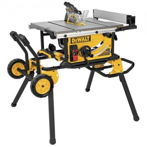 dewalt tablesaw and rolling stand