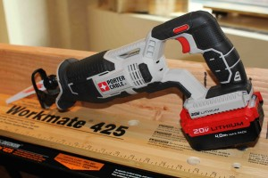 Porter cable cordless reciprocating saw