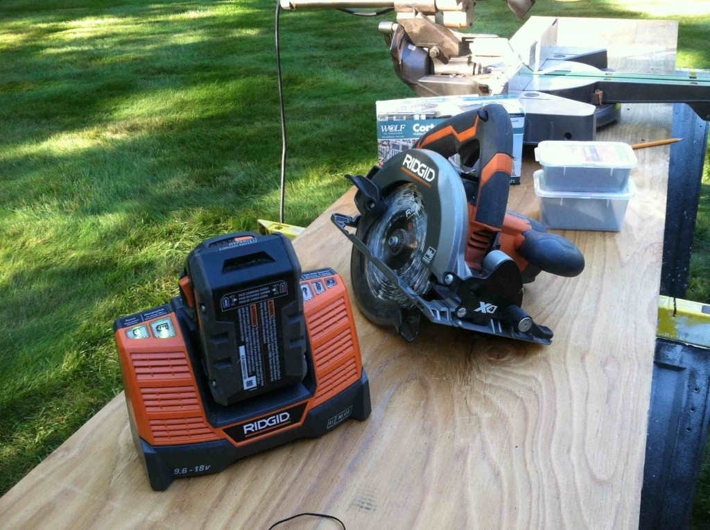 RIDGID 18-Volt X4 Circular Saw Review 1