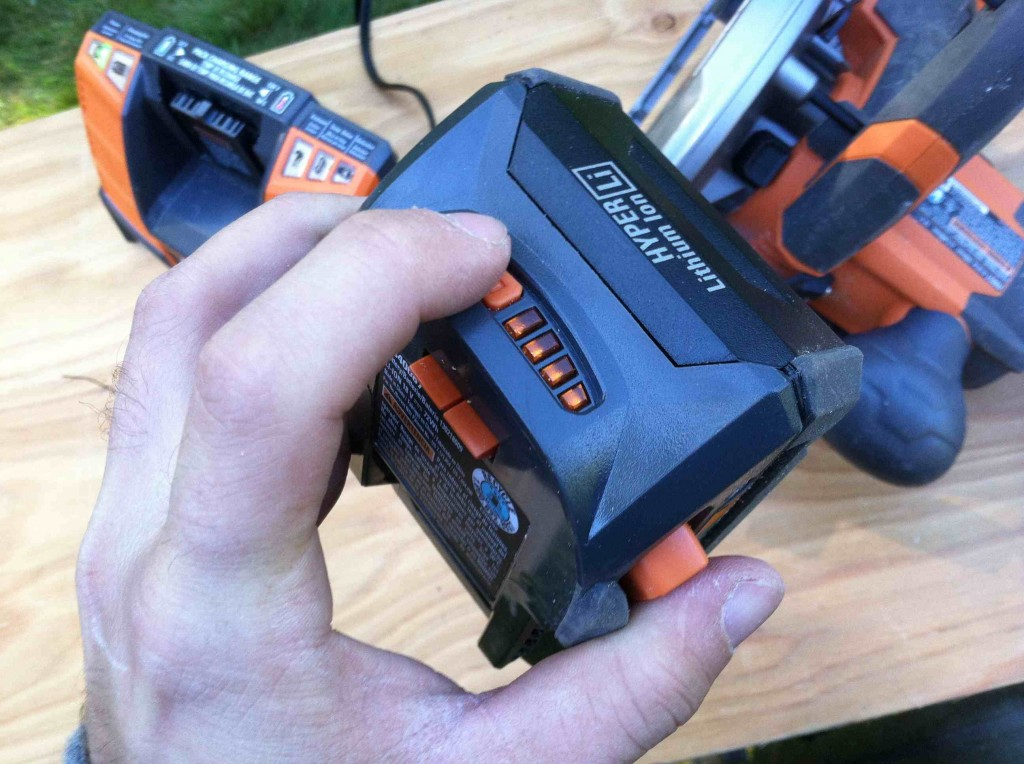 RIDGID 18-Volt X4 Circular Saw Review 2