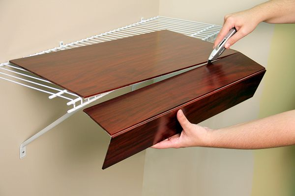 cover for wire closet shelves | Roselawnlutheran