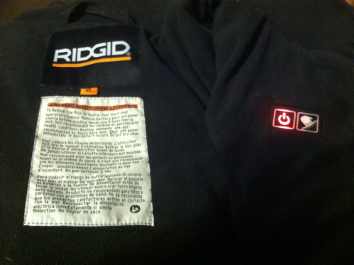RIDGID 18 Volt Heated Jackets 9