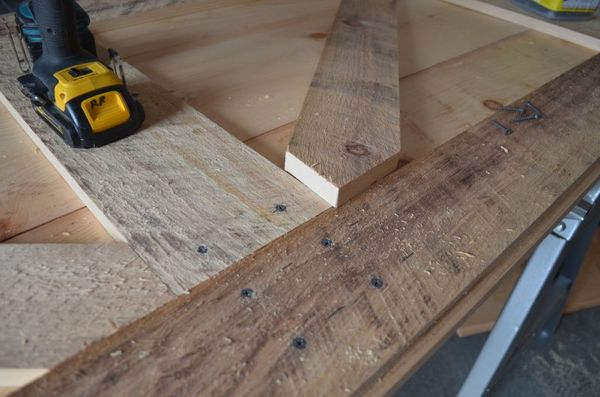 How to Build A Board and Batten Door : make door - pezcame.com