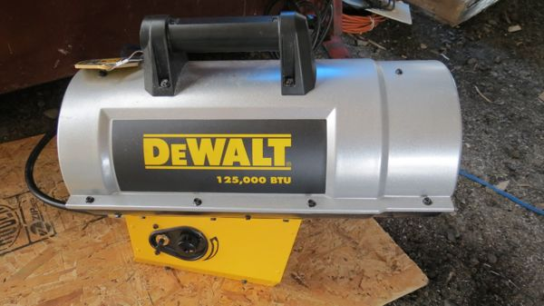 Propane Powered Blower : Dewalt construction heater dxh a concord carpenter
