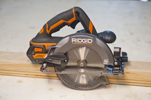 18 volt cordless circular saw head to head a concord carpenter ridgidr8651b01 greentooth Image collections