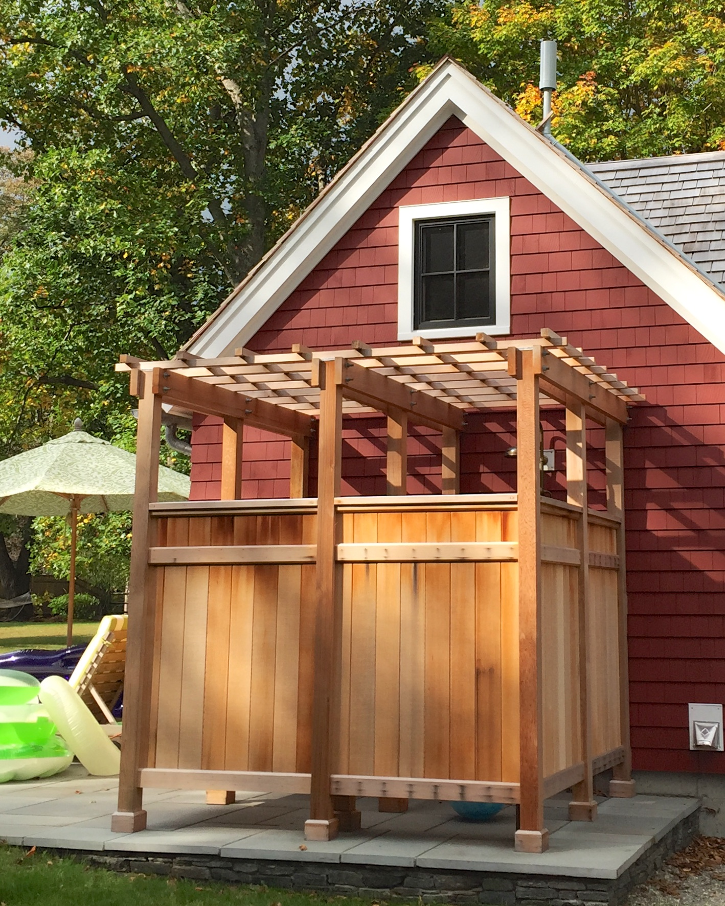 How To Build An Outdoor Shower - A Concord Carpenter
