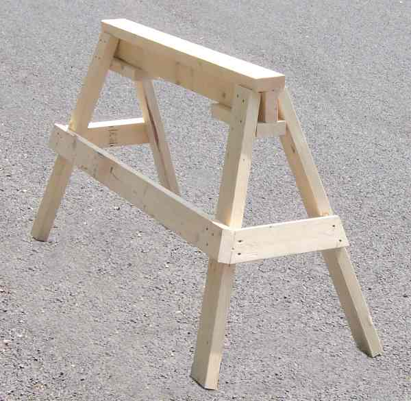 Job Site Sawhorses A Concord Carpenter