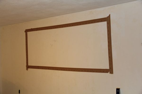 How To Cut An Opening In A Non Bearing Wall