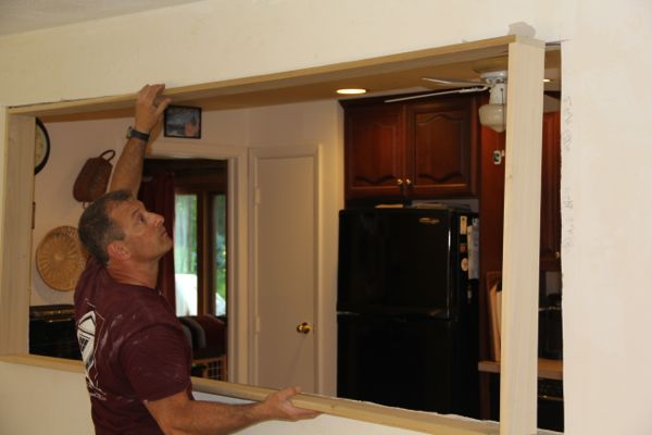 how to measure and cut door trim